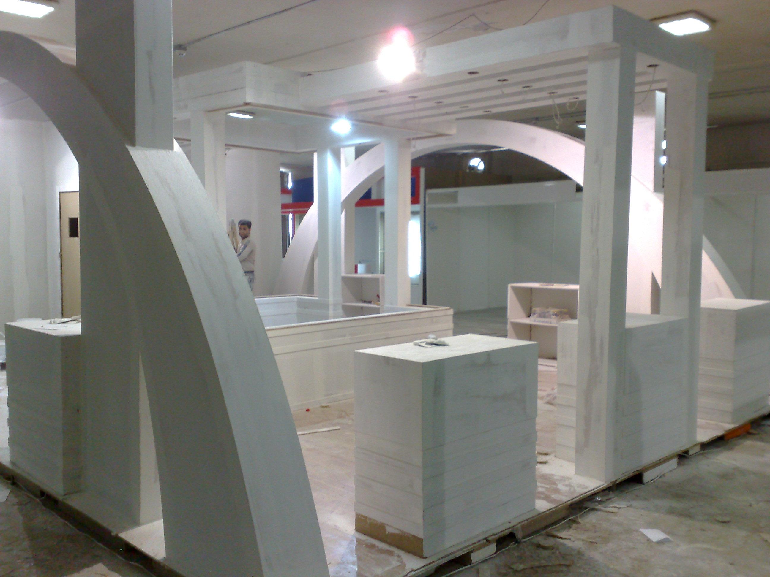 مراحل اجرائی و ساخت غرفه,غرفه سازی,طراحی غرفه,غرفه نمایشگاهی,شرکت غرفه ساز,غرفه