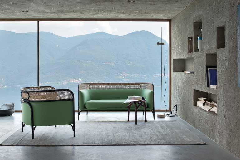1 GTV TARGA sofa Maison Objet Gam Fratesi 1 - طراحی دکوراسیون داخلی و نما
