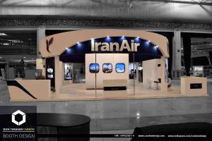 سازی شرکت ایران ایر (2) - غرفه سازی