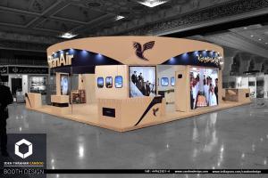 غرفه سازی شرکت ایران ایر (3) - غرفه سازی