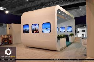 سازی شرکت ایران ایر (4) - غرفه سازی