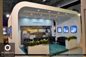 سازی شرکت ایران ایر (5) - غرفه سازی