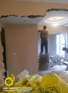 IMAG0410 - بازسازی  ساختمان دربند
