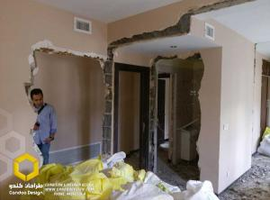 IMAG0417 - بازسازی  ساختمان دربند