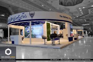 غرفه سازی شرکت راه آهن جمهوری اسلامی ایران (1)