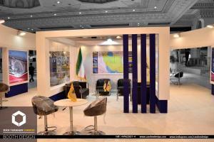 غرفه سازی شرکت راه آهن جمهوری اسلامی ایران (2) - غرفه سازی
