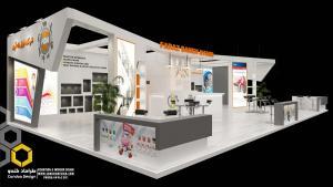 طراحی غرفه (34 - طراحی غرفه نمایشگاهی