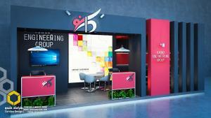 طراحی غرفه (35 - طراحی غرفه نمایشگاهی