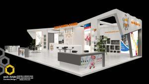 طراحی غرفه (44 - طراحی غرفه نمایشگاهی