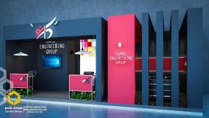 طراحی غرفه (45 - طراحی غرفه نمایشگاهی