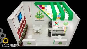 طراحی غرفه (48 - طراحی غرفه نمایشگاهی