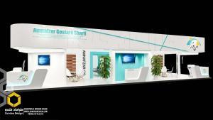 طراحی غرفه (50 - طراحی غرفه نمایشگاهی