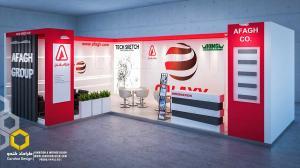 K1 - طراحی غرفه نمایشگاهی