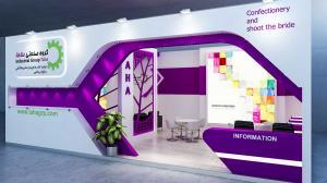 k2 4 - طراحی غرفه نمایشگاهی