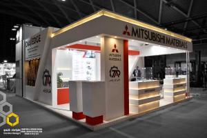 غرفه سازی شرکت میتسوبیشی