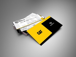 bussiness card black beryy