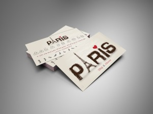card visit paris