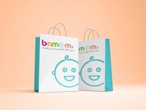 Shopping Bag bamom - هدایای تبلیغاتی