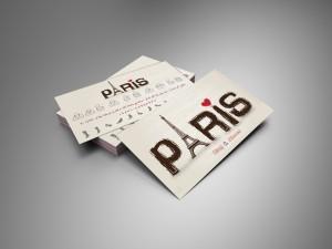 card visit paris - کارت ویزیت